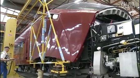 法国阿尔斯通agv高铁的制造 - 车头视频