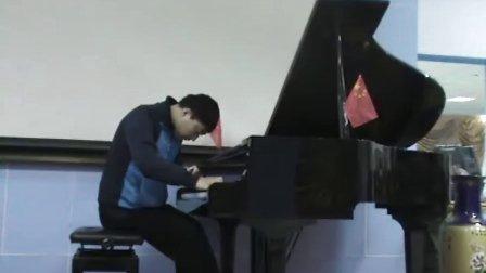 爱国歌曲 我爱你中国 的钢琴伴奏视频
