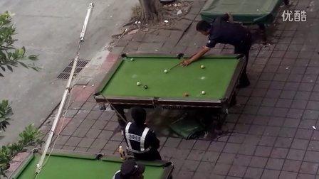 福永白石廈治安上班時間打臺球比賽