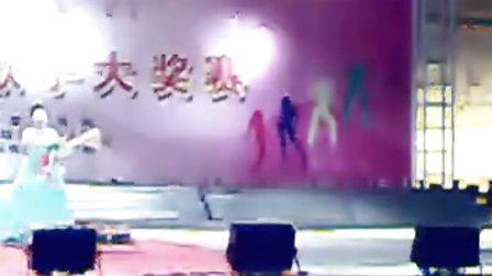 陸良馬街杜旗堡小學黎學麗參加陸良2010年慶國慶青年歌手大賽