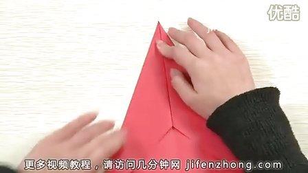 几分钟网-如何折纸飞机(第1款)