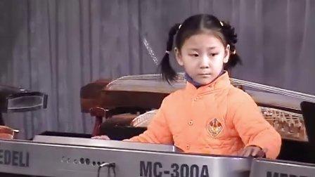 电子琴独奏《洋娃娃之梦》积木乐高苹果岛游戏下载视频图片