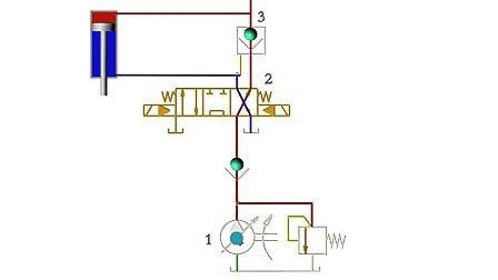 自动补油保压回路动画图片
