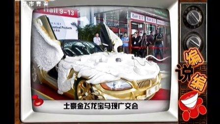 土豪金飞龙宝马现广交会 天天网事 131026