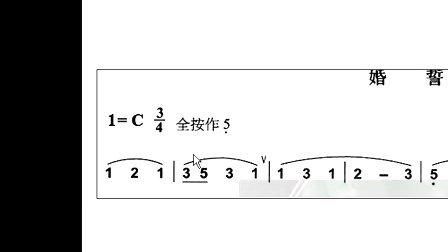 快速学简谱   零基础学吹葫芦丝讲座