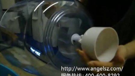 安吉尔净水桶安装在饮水机上的方法