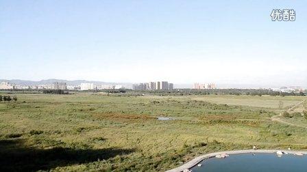内蒙古包头市赛汗塔拉公园的景色