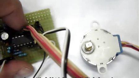 设计diy的贴片机旋转轴控制电路