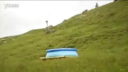 国外冒险!疯狂的水跃!
