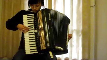 手风琴《山楂树》