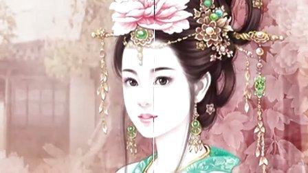手绘古代美人 1