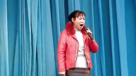 北路梆子老旦演员唱《蝴蝶杯》