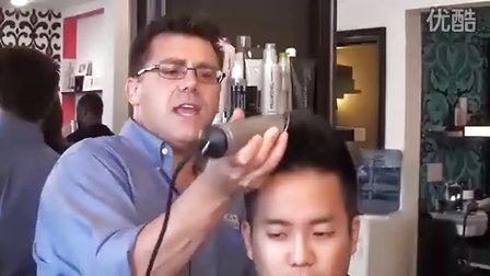 怎样理发的步骤图解