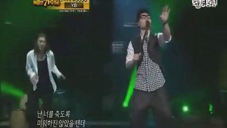 110710 MBC《我是歌手》金范秀演唱《孤独的人》