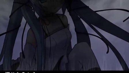 暗色壁纸动漫简单_【初音ミク】暗色アリス【pv 中文字幕】