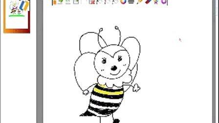 涂鸦小蜜蜂