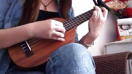 虫儿飞 ukulele弹唱