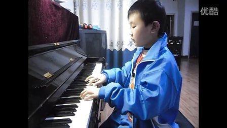 钢琴曲北风吹.刘小湉