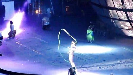 蔡依林上海演唱会 舞娘