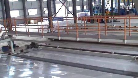 超宽幅8米PE防水卷材防水板挤出生产线设备录像
