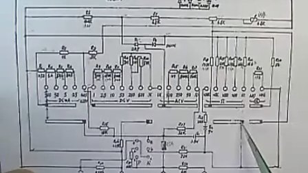 指针式万用表结构原理使用及故障维修