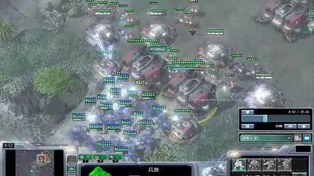 星际争霸2 P V T 疯狂电脑 2011