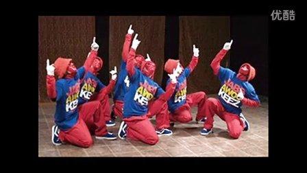 假面舞团(jabbawockeez)来自美国的最佳舞蹈团队的现场表演