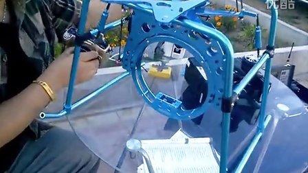 遥控直升机入门教程08-航拍云台的配合调整