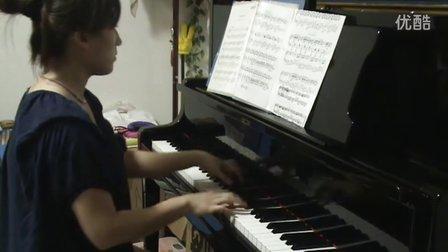 久石让《菊次郎的夏天》琴键狂_tan8.com