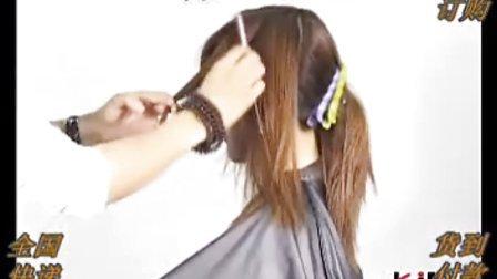 冷烫发型出道剪发卷杠发型by2教学的时烫发图片