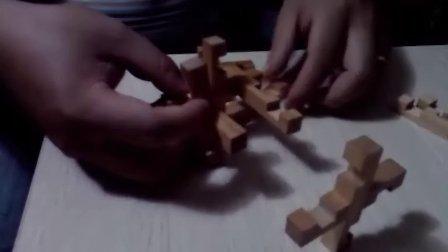 12根孔明锁快速组装