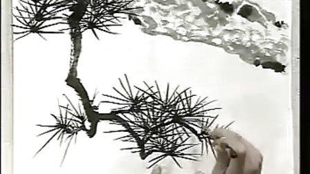 詹仁左 第15,16讲 松树画法(一)(二)