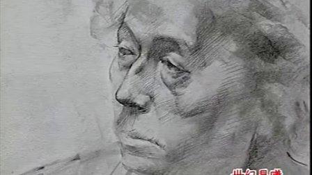 人物半身手绘图片