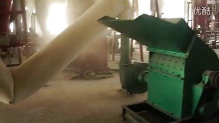 木材粉碎机视频