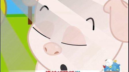 小猪吃的饱饱