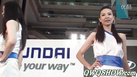 韩国HYUNDAI现代车模展秀