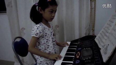 电子琴演奏日本民歌《樱花》