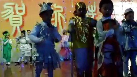 我儿子幼儿园时装表演