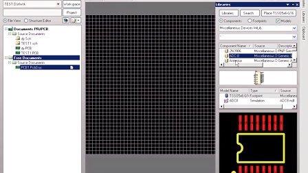 用多媒体学习protel2004,基础篇,4.1 简单认识印刷电路板