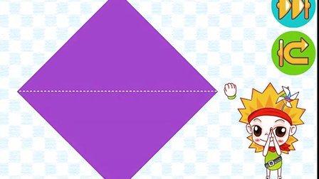 幼儿折纸大全 48折纸金鱼