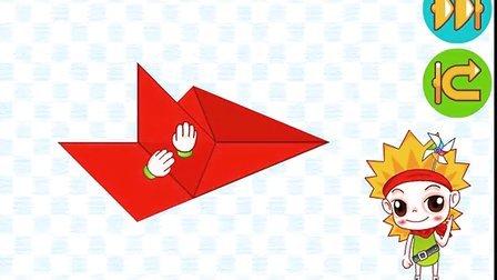 幼儿折纸大全67折纸恐龙之翼龙