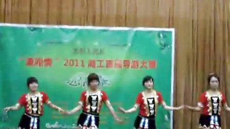 人文学院导游大赛总决赛开唱苗族舞