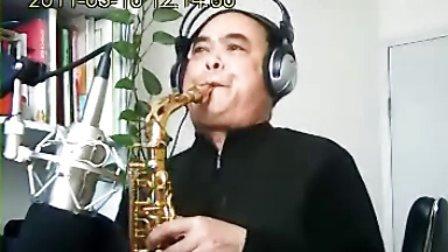 萨克斯曲谱蒙古人