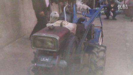 柴油机启动器的一场革命-气马达-手扶旋耕机启动五次视频