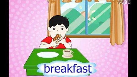 湖南小学 湘少版 五年级英语课本配套视频 上册 第02课
