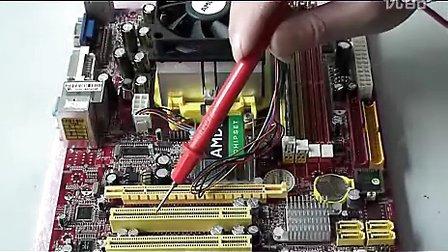 电脑主板时钟电路的维修实例