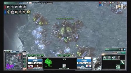StarCraft II 110401 GSL世界冠军赛 个人赛8强第一日 Mvp(T) vs July(Z) 01 2011