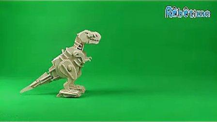 视频若态木制史前部落科技积木v视频益智正品拼sugar舞蹈恐龙图片