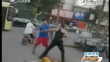 【振藩門徒】终于看到有用搏击打架的了!