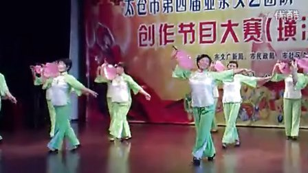 太仓市沙溪镇新北社区老年舞蹈队